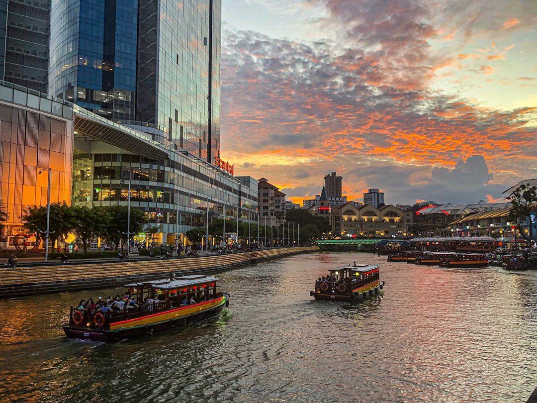 Singapore travel - Clarke Quay
