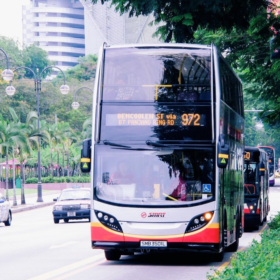 Travel to Singapore by bus