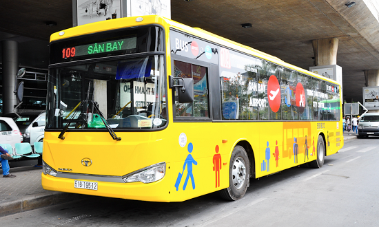Bus to Ho Chi Minh City airport