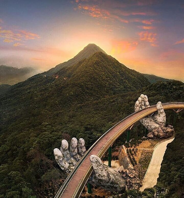 bana hill golden bridge