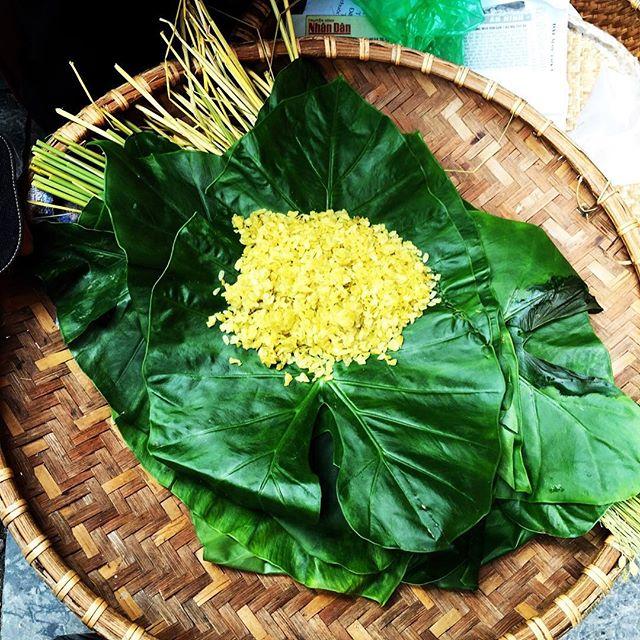 녹색 쌀 Xoi dau xanh