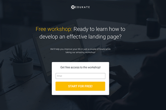 Responsive Landing Page Templates Proven To Boost Advertising ROI - Splash page template