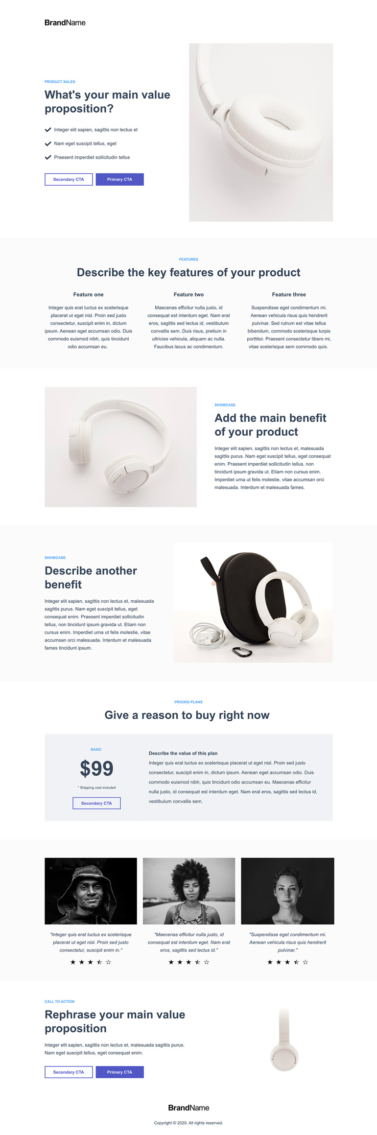 Product Sales Landing Page 6