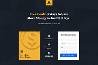 Pobook Templates Free | Responsive Landing Page Templates Proven To Boost Advertising Roi