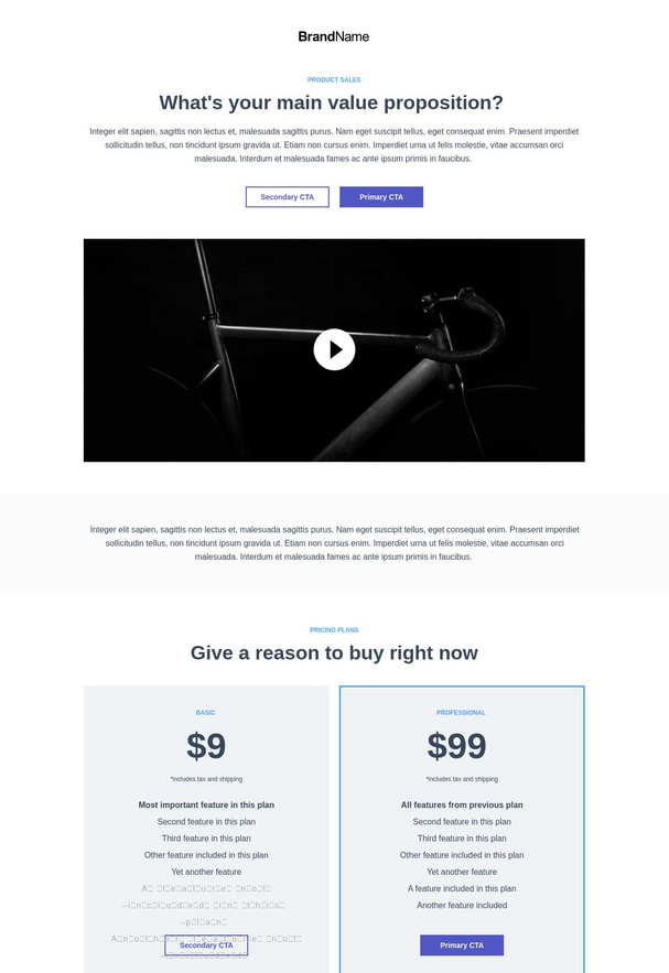 Product Sales Landing Page 8