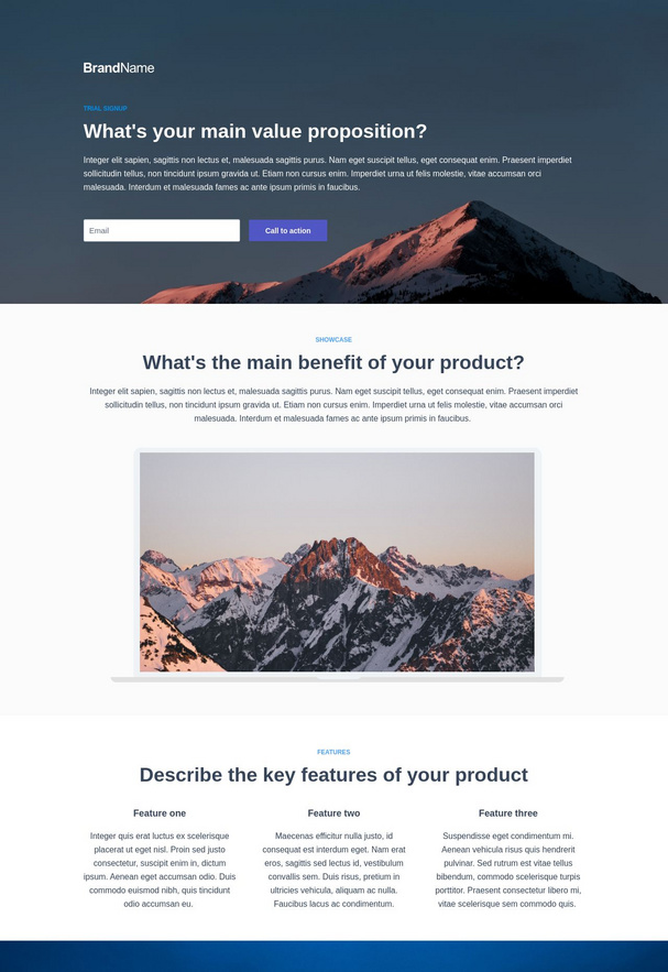 Trial Signup Landing Page 10