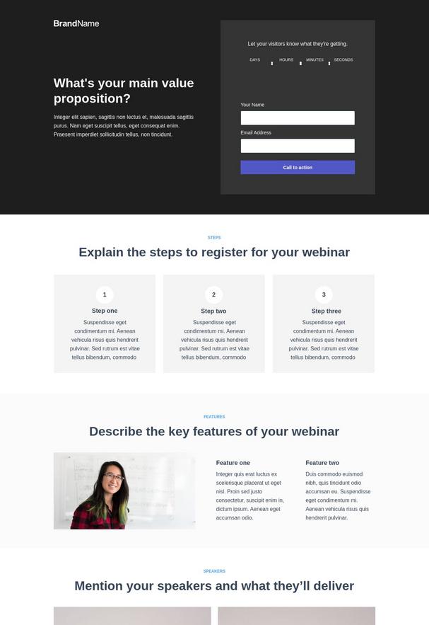 Webinar Registration Landing Page 8