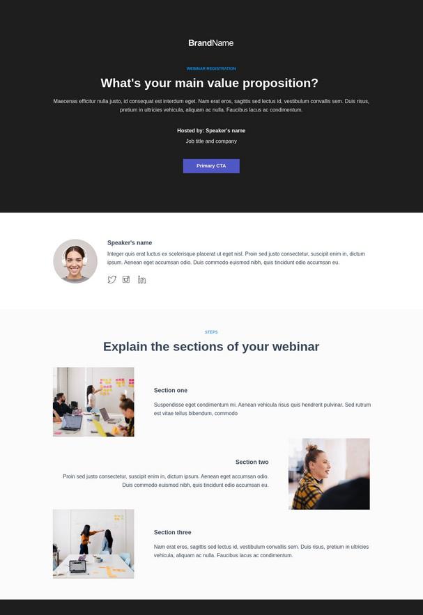 Webinar Registration Landing Page 5