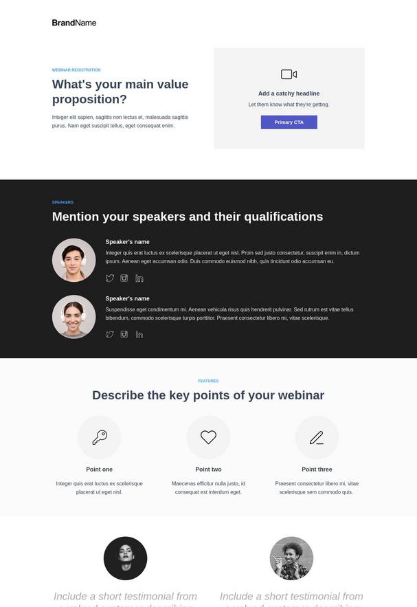 Webinar Registration Landing Page 6