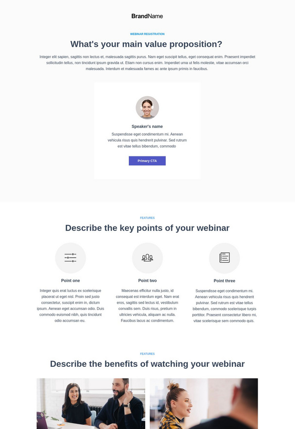 Webinar Registration Landing Page 2