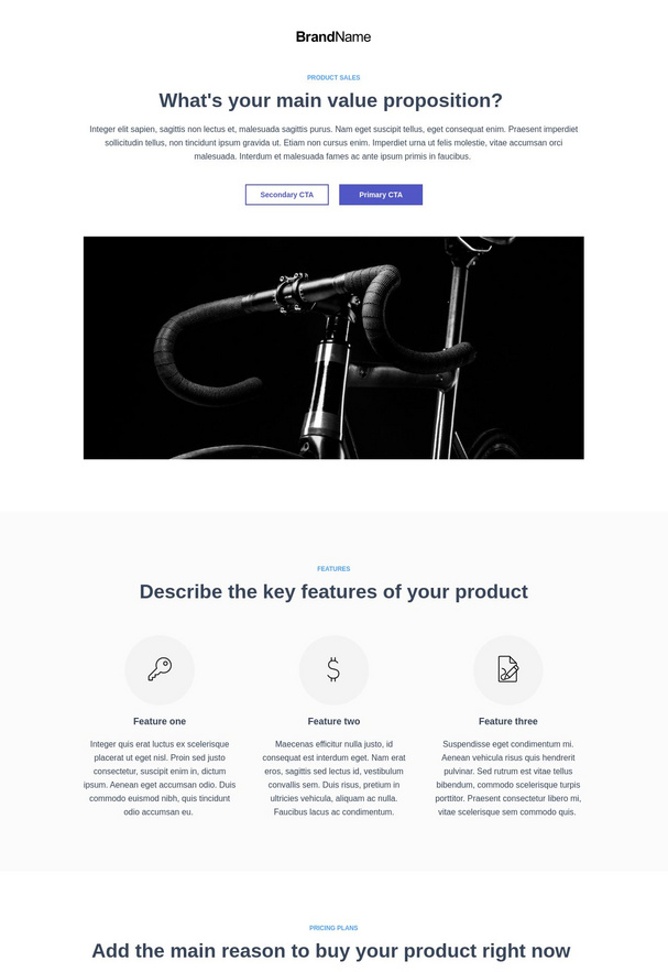 Product Sales Landing Page 2