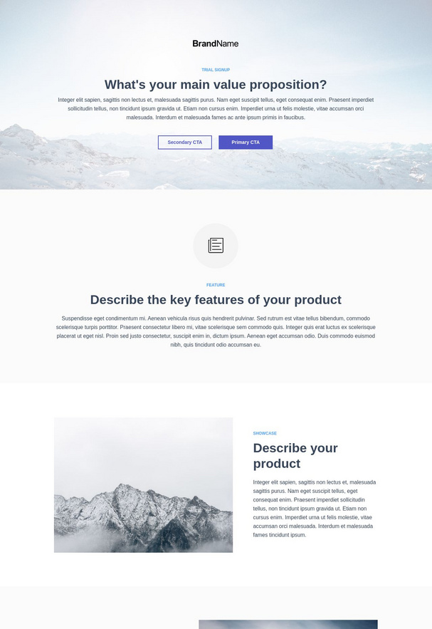 Trial Signup Landing Page 9