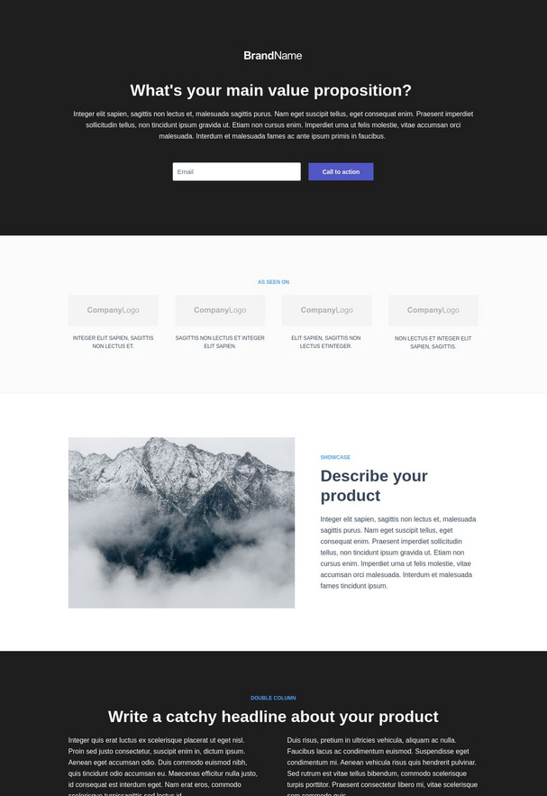 Trial Signup Landing Page 5