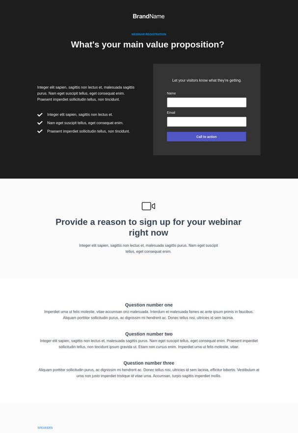 Webinar Registration Landing Page 7