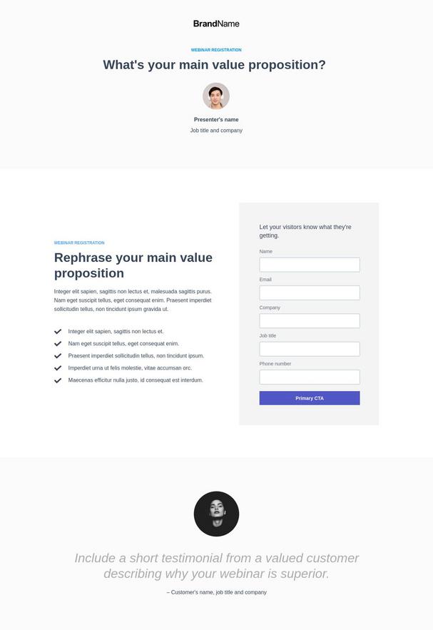 Webinar Registration Landing Page 1