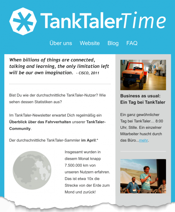 Blog TankTaler Time