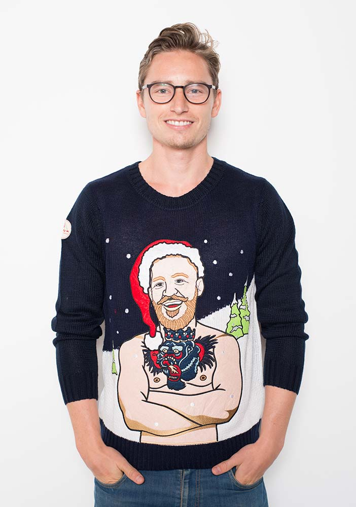 Conor Mcgregor Christmas Jumper male