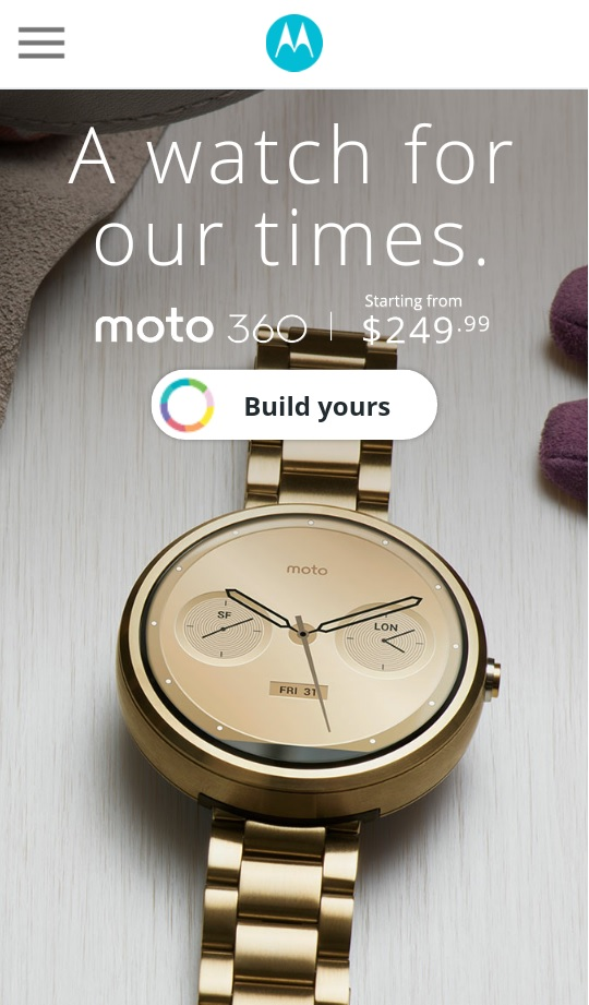 moto 360 mobile version