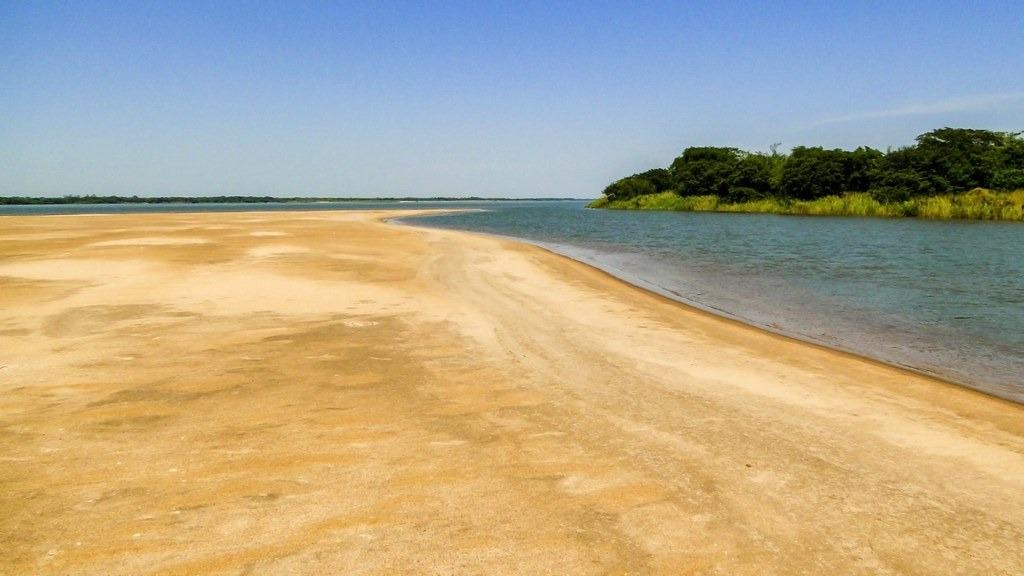 Praia de Água Doce do Rio Araguaia