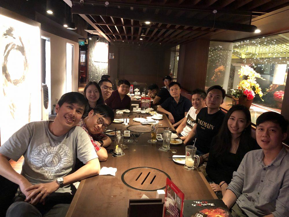 2019 Q1 End Dinner