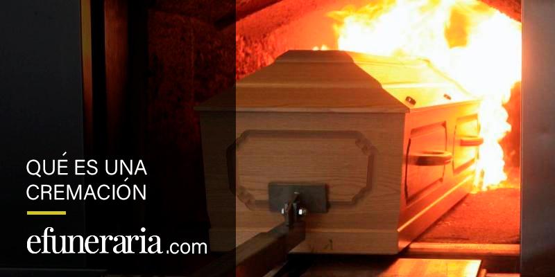 que es una cremación incineración