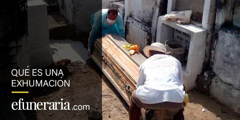 exhumar un cadáver