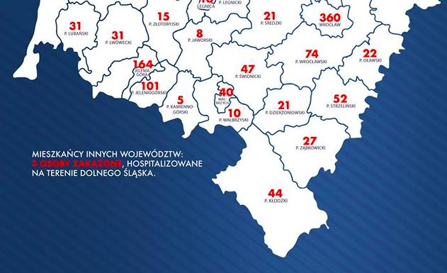 27 przypadków koronawirusa w powiecie - Zdjęcie główne