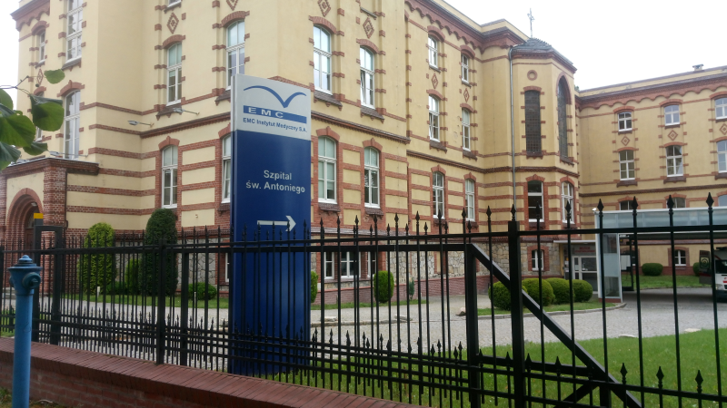 Zakażony lekarz – szpital św. Antoniego zamknięty do odwołania  - Zdjęcie główne