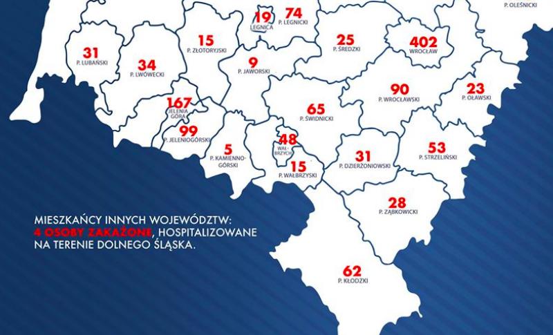 28. przypadek koronawirusa w powiecie - Zdjęcie główne
