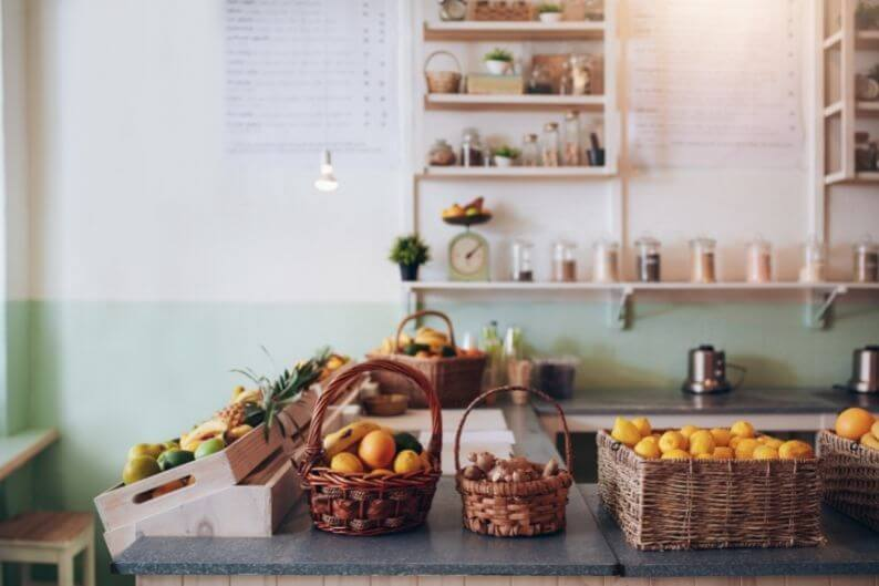 A juice bar franchise will help you with buildout and branding to create a storefront your clients will love.