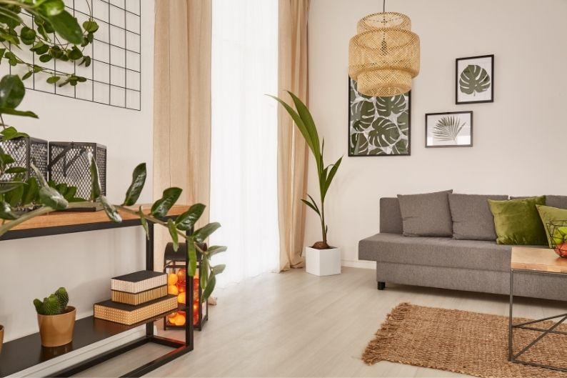 A simple, clean home staging look can increase the appeal of any home!