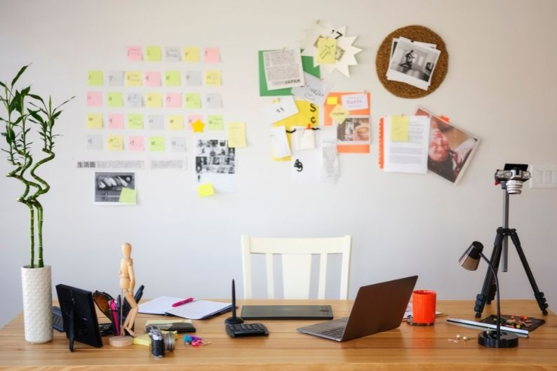 Have more freedom of expression with a home office!