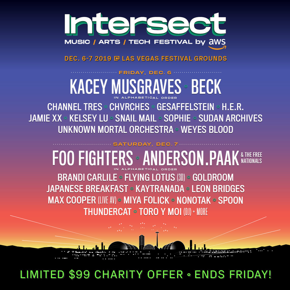 Intersect Line Up