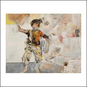 Art work by Alberto Mijangos, Beto, painting, 45 x 58 in
