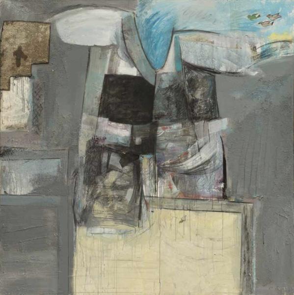 Art work by Alberto Mijangos, T-Shirt Series, 1989, painting, 80 x 80 in