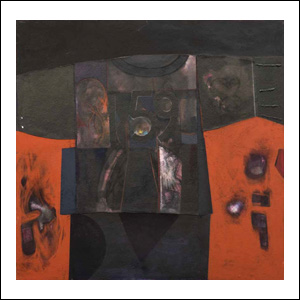 Art work by Alberto Mijangos, Untitled (T-Shirt series), 1989, painting, 78 x 80 in