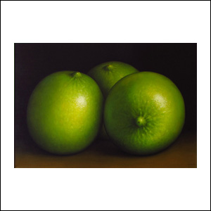 Art work by Gustavo Valenzuela, Limes, painting, 35.5 x 51.2 in (90 x 130 cm)