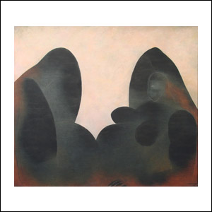 Art work by Ricardo Martinez de Hoyos, Desnudo con Fondo Rosa, painting, 175 x 200 cm