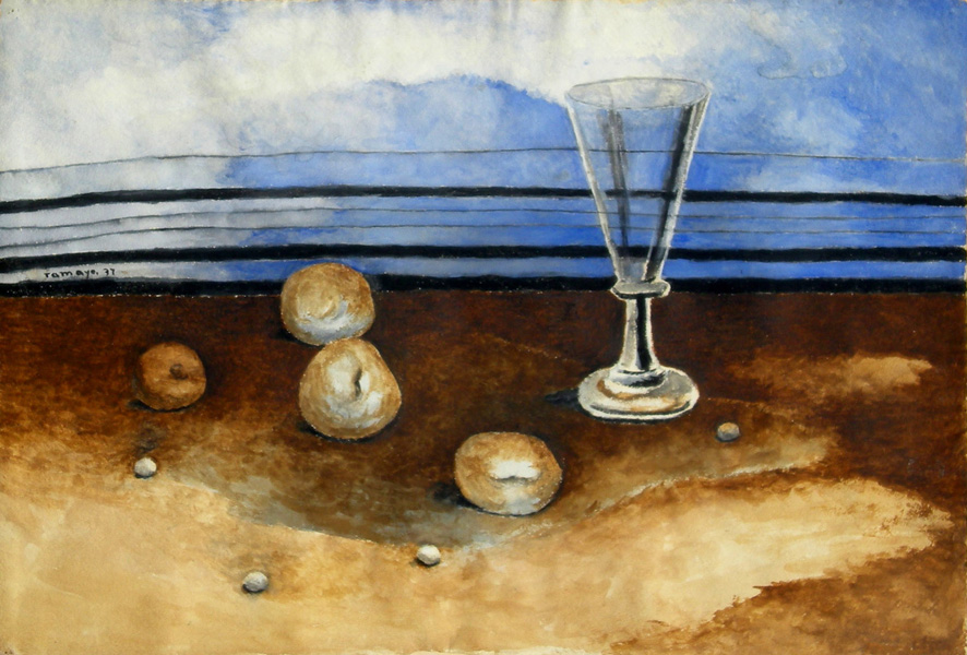 Art work by Rufino Tamayo, Still Life, painting, 38 X 53 CM