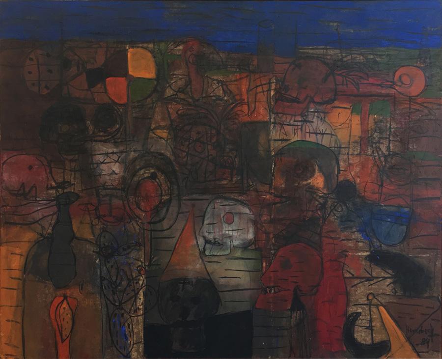 Tzompantli by Sergio Hernandez
