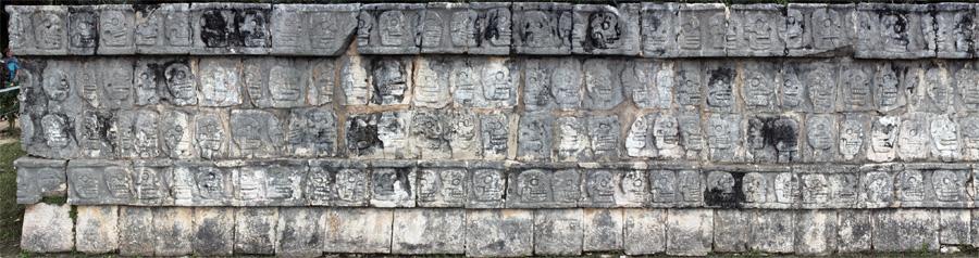Tzompantli-Chichen-Itza-Maya-Civilization