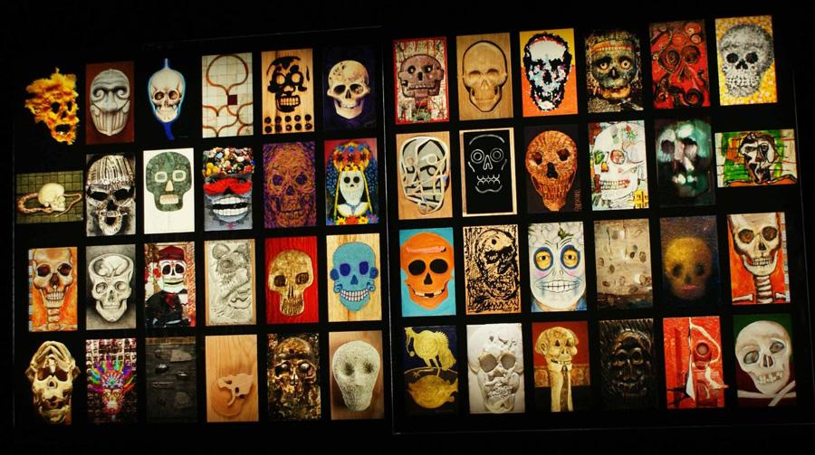 Tzompantli at Museo de Arte SHCP Exhibition