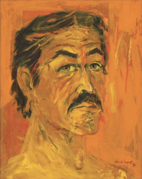 Alberto Mijangos Self-portrait