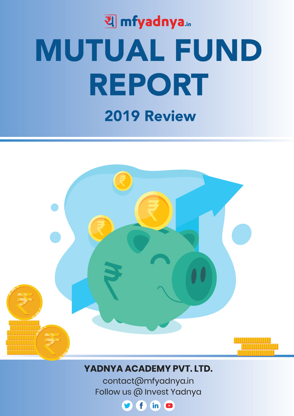 Mutual Fund Report 2019 gives complete review of our Mutual Fund Industry in 2019. Questions such as - What were the major buys and sell and which Mutual Fund houses performed well? are answered with detail tables and graphs.