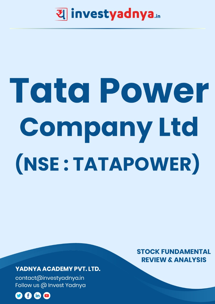 Tata Power Company Limited - Company/Stock Review based on Q4 2020-21 and FY 2020-21 data. The ebook contains Fundamental Analysis of the company considering both Quantitative (Financial) and Qualitative Parameters. Tata Power has presence in power generation (Coal, Solar & wind), Power transmission, Power distribution and Solar EPC as well.