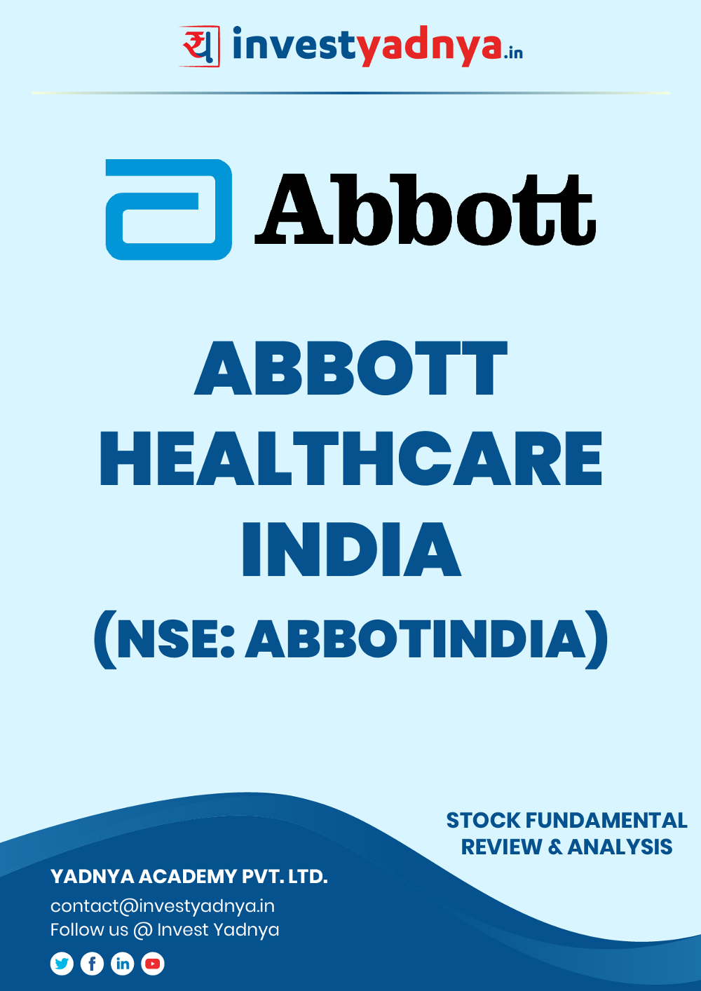 This e-book contains in-depth fundamental analysis of Abbott India considering both Financial and Equity Research Parameters. It reviews the company, industry competitors, governance, financials, and valuations. ✔ Detailed Research ✔ Quality Reports