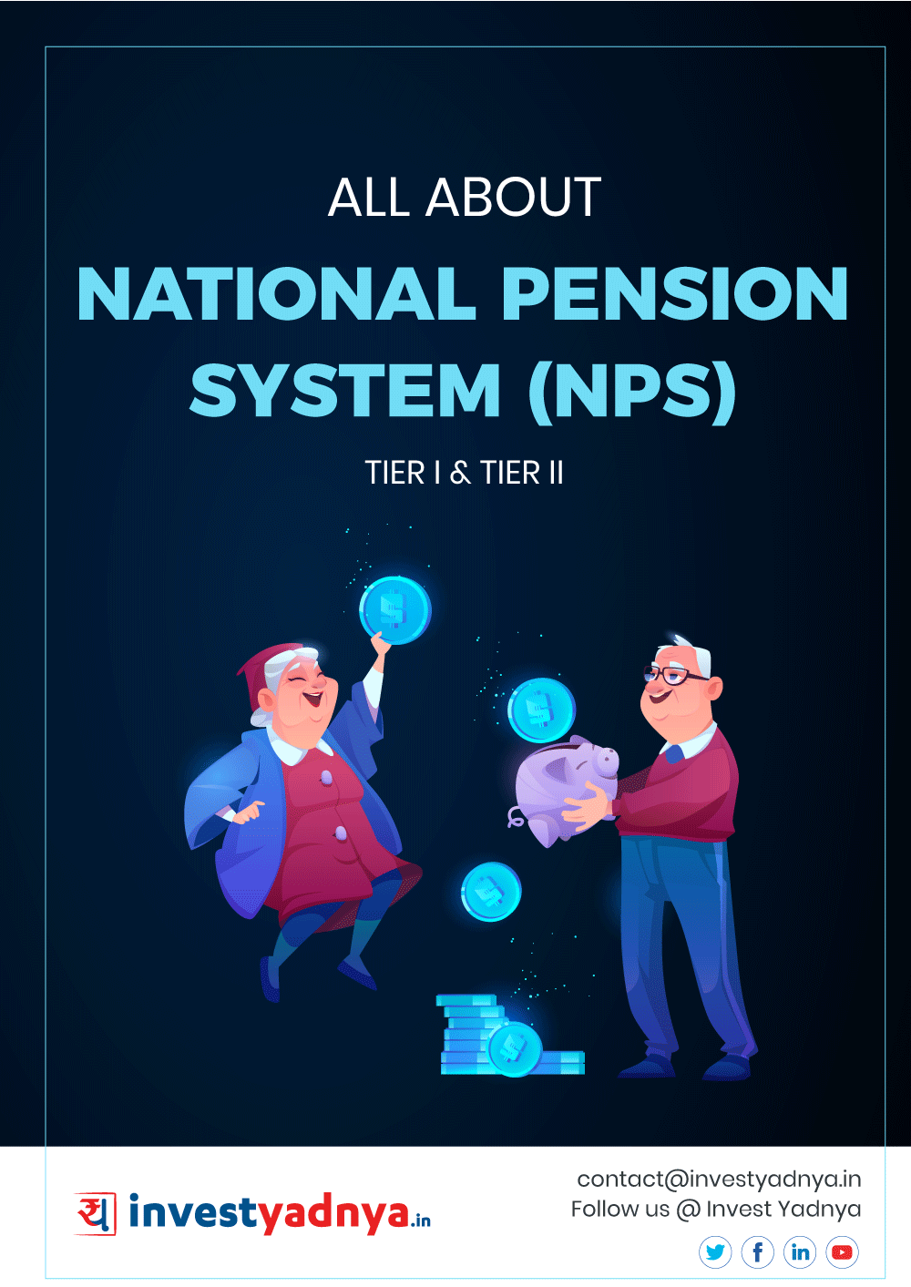 This e-book offers comprehensive information & analysis of National Pension Scheme (NPS) in India. It provides answers to the scheme related questions of both government & private employees. ✔ Detailed Research ✔ Quality Reports