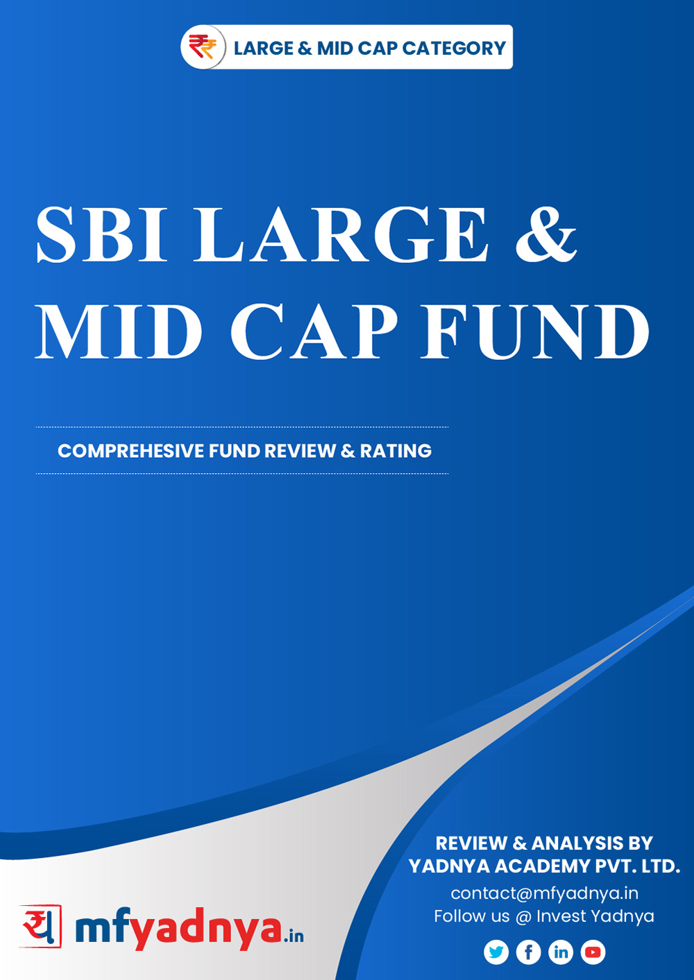 Large & Midcap Category Review - 'SBI Large & Midcap Fund'. Most Comprehensive and detailed MF review based on Yadnya's proprietary methodology of Green, Yellow & Red Star. Detailed Analysis & Review based on Nov 30th, 2019 data.
