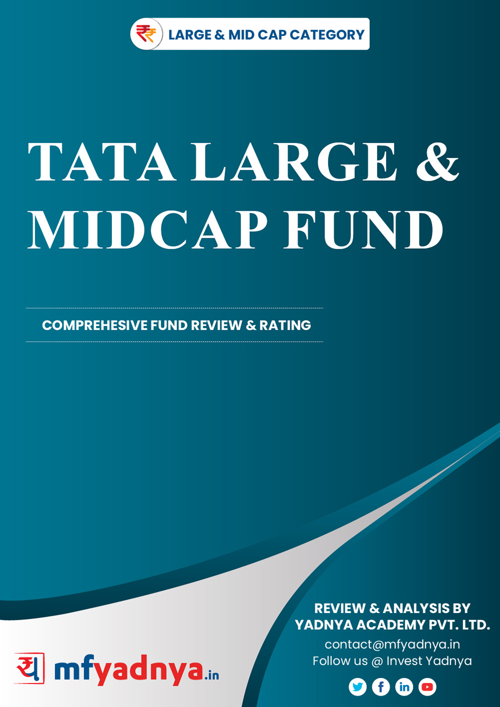 Large & Midcap Category Review - 'TATA Large & Midcap Fund'. Most Comprehensive and detailed MF review based on Yadnya's proprietary methodology of Green, Yellow & Red Star. Detailed Analysis & Review based on Nov 30th, 2019 data.