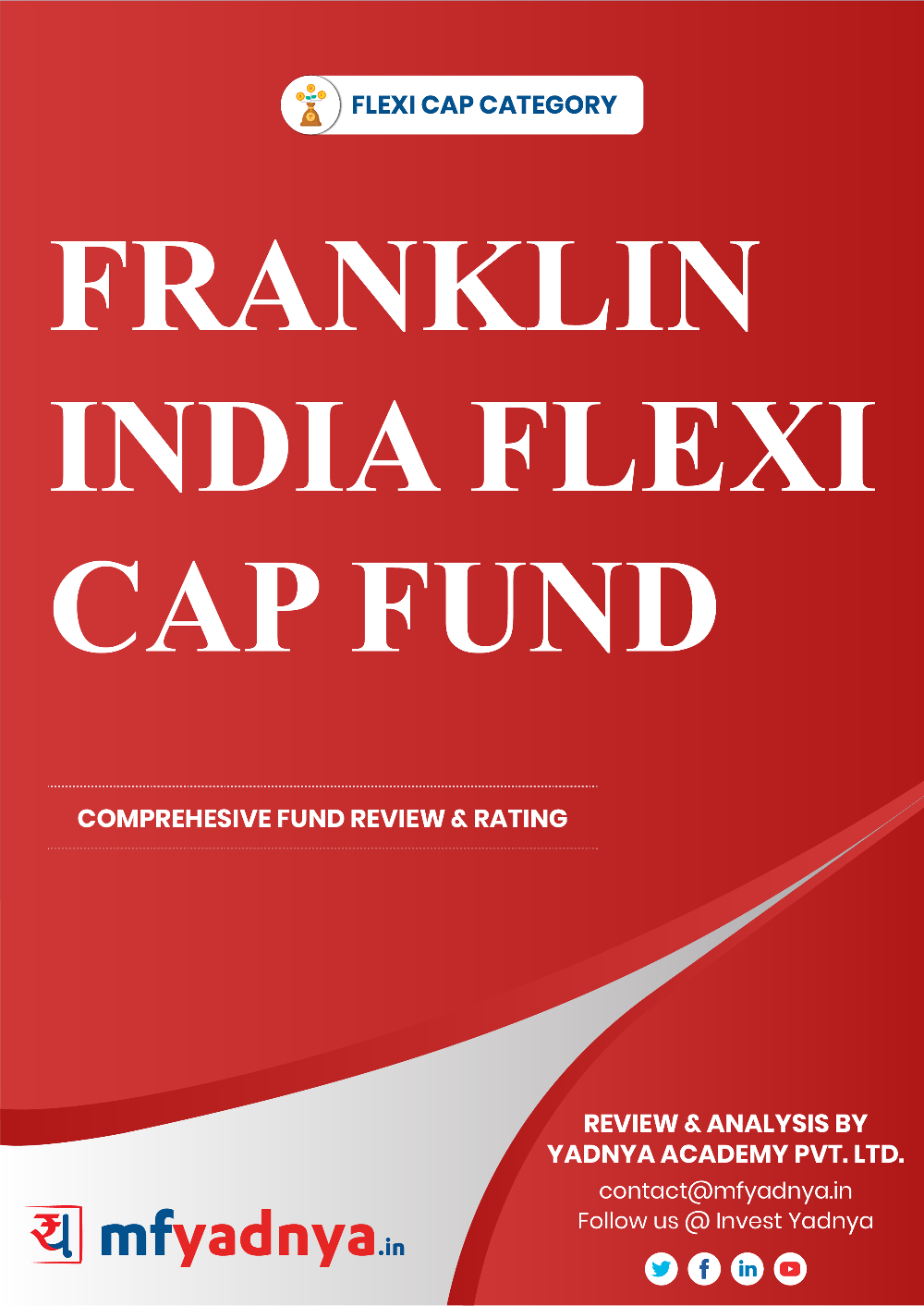 This e-book offers a comprehensive mutual fund review of Franklin India Flexi Cap Fund. It reviews the fund's return, ratio, allocation etc. ✔ Detailed Mutual Fund Analysis ✔ Latest Research Reports